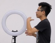 LED环形直播灯AC款使用视频