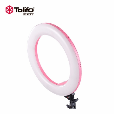 Tolifo图立方R48B环形LED补光灯直播灯