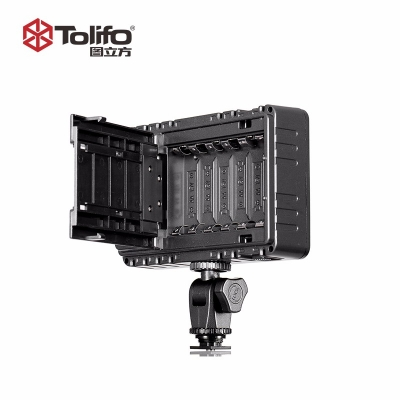Tolifo图立方PT-160B机顶补光灯LED摄像灯双调光