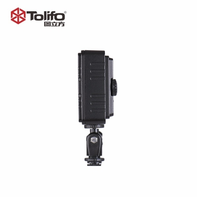 Tolifo图立方PT-160S机顶补光灯LED摄像灯单调光