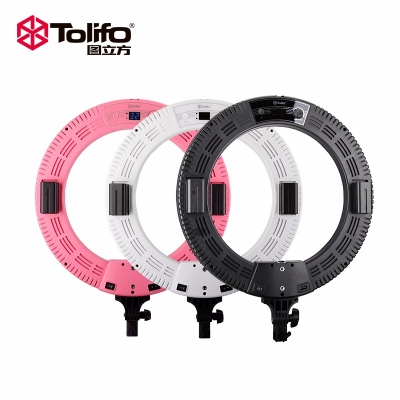 Tolifo图立方R60B环形灯LED直播灯双色温60W