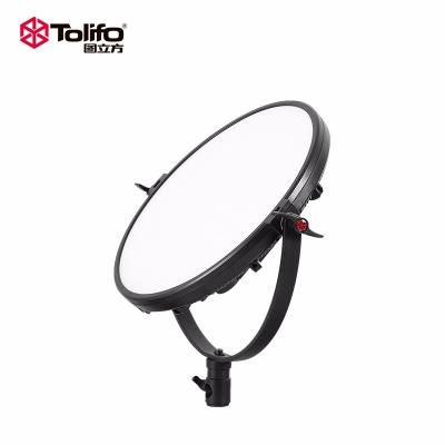 Tolifo图立方R-36B月亮灯LED平板灯双色温36W