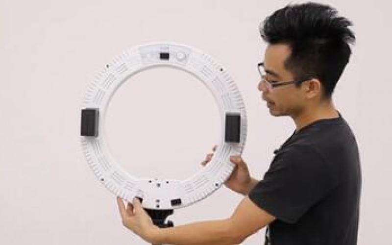 LED环形灯DC款使用视频